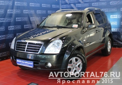 Продам Ssang Yong Rexton III 2.7 TD (165Hp) 2011