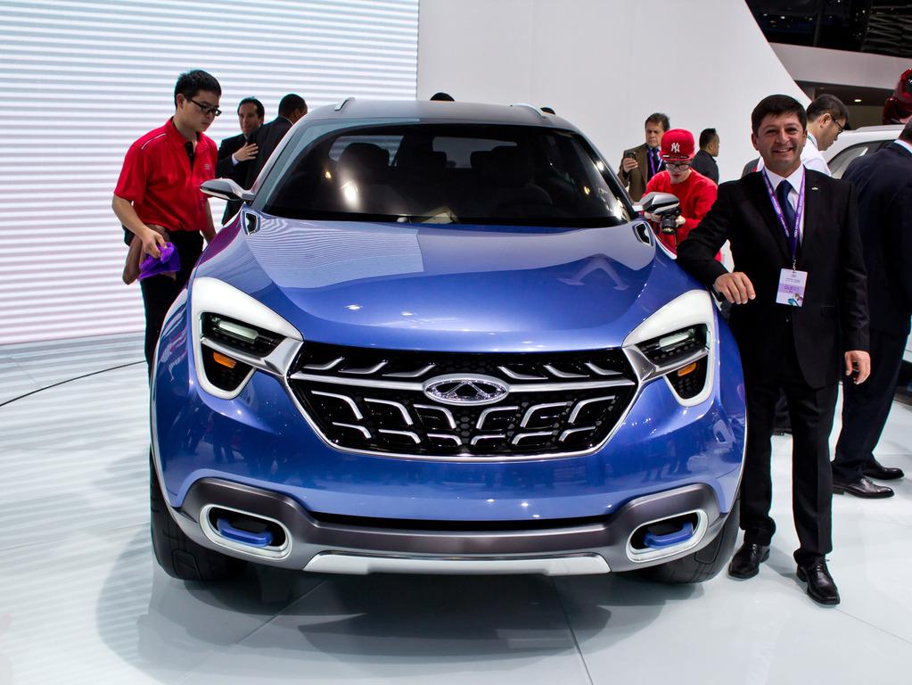 новые китайские концепт кары 2014 фото