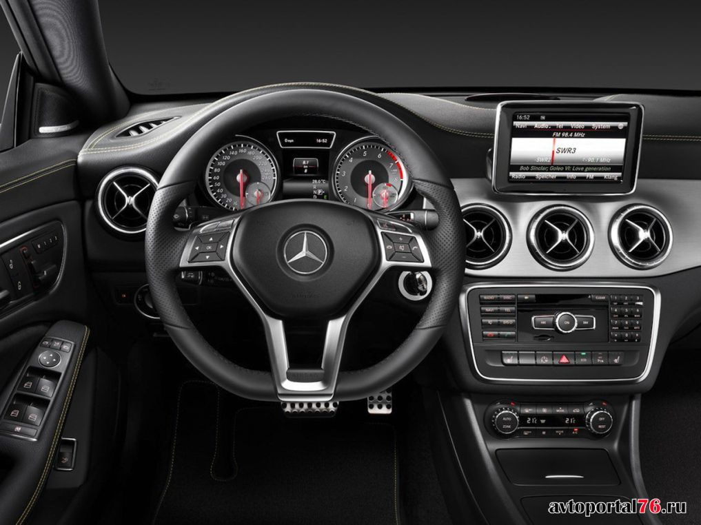 Mercedes benz cla interior beige