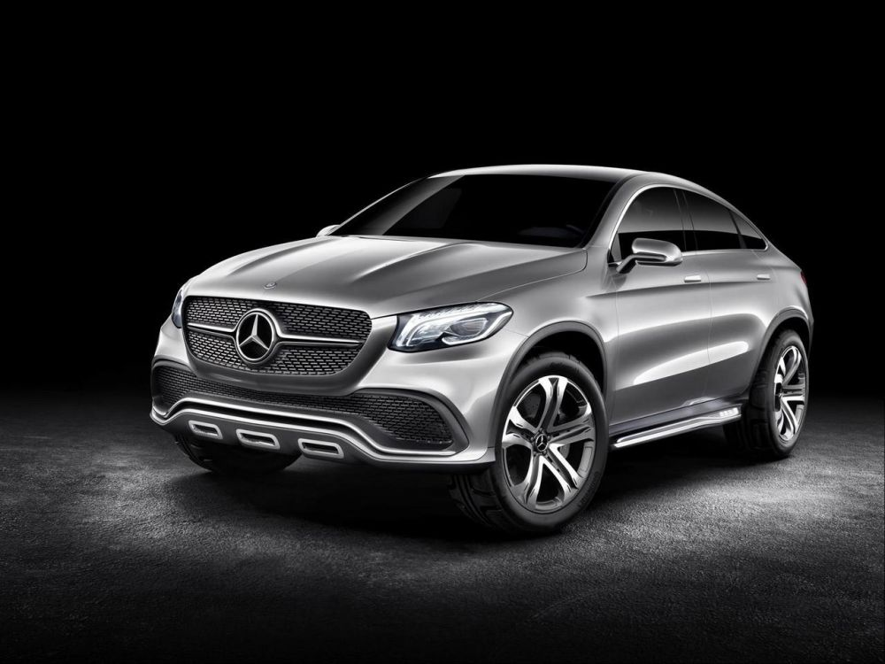 Mercedes-Benz ML Coupe (фото)