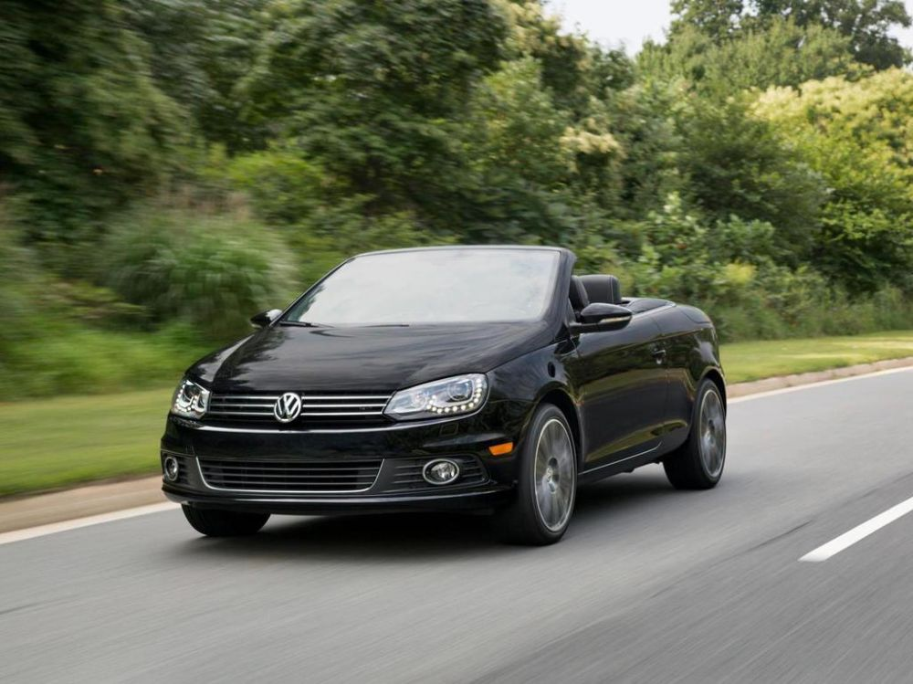 Volkswagen Eos Final Edition (фото)