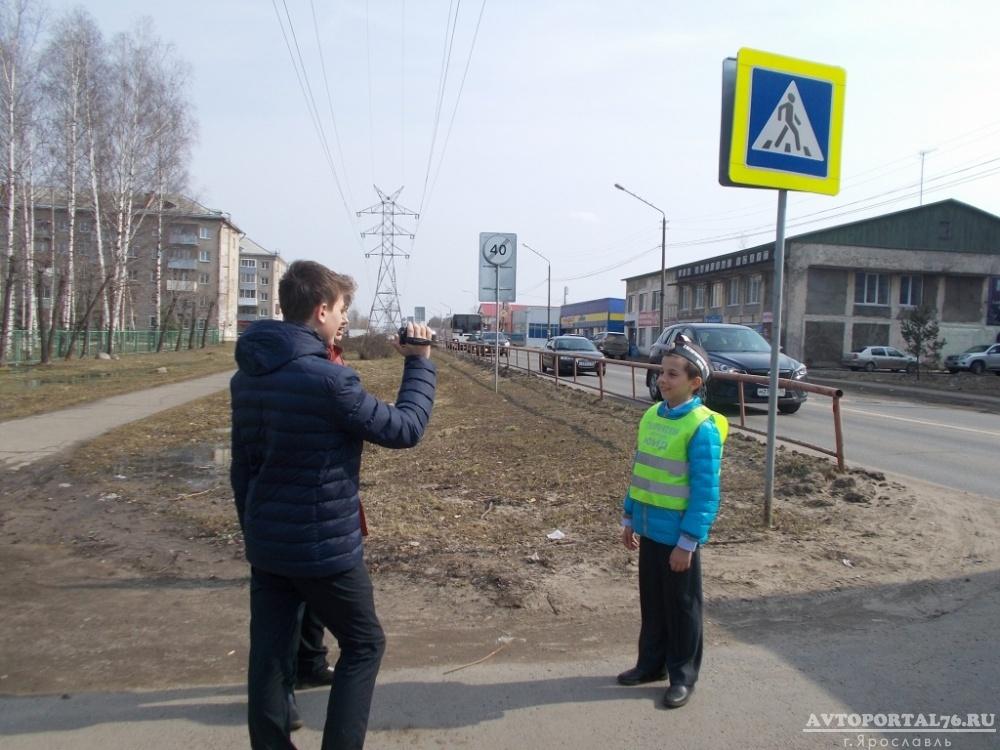 Юные инспекторы начали съемку проекта «Правила безопасности»