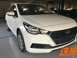 Фотографии нового поколения Hyundai Solaris засветились на интернете (фото)